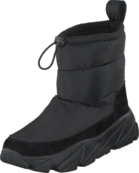 Svea Low Winter Boots Black, Kengät, Bootsit, Talvisaappaat, Musta, Naiset, 37