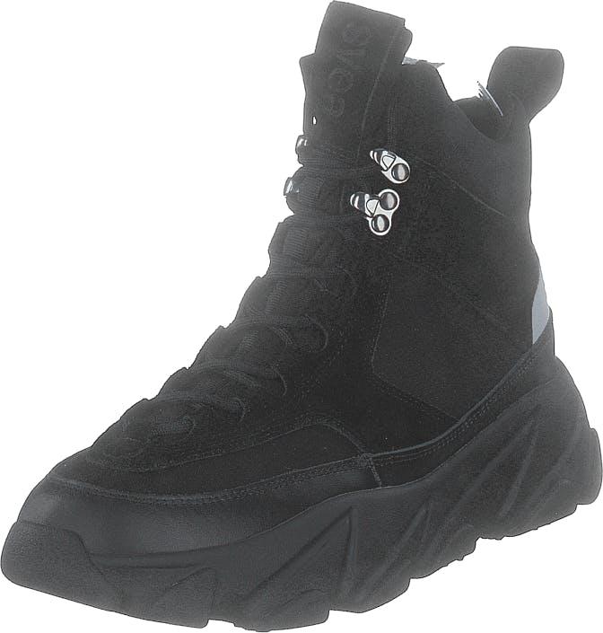Svea Fire Sneaker Boots Black, Kengät, Bootsit, Vaelluskengät, Musta, Naiset, 38