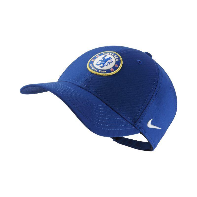 Image of Nike Dri-FIT Chelsea FC Legacy91 Adjustable Hat - Blue  - Unisex - Blue - Koko: One Size