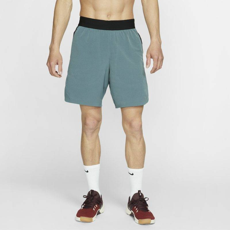 "Image of Nike ""Nike Flex Tech Pack Men's Training Shorts - Grey"""
