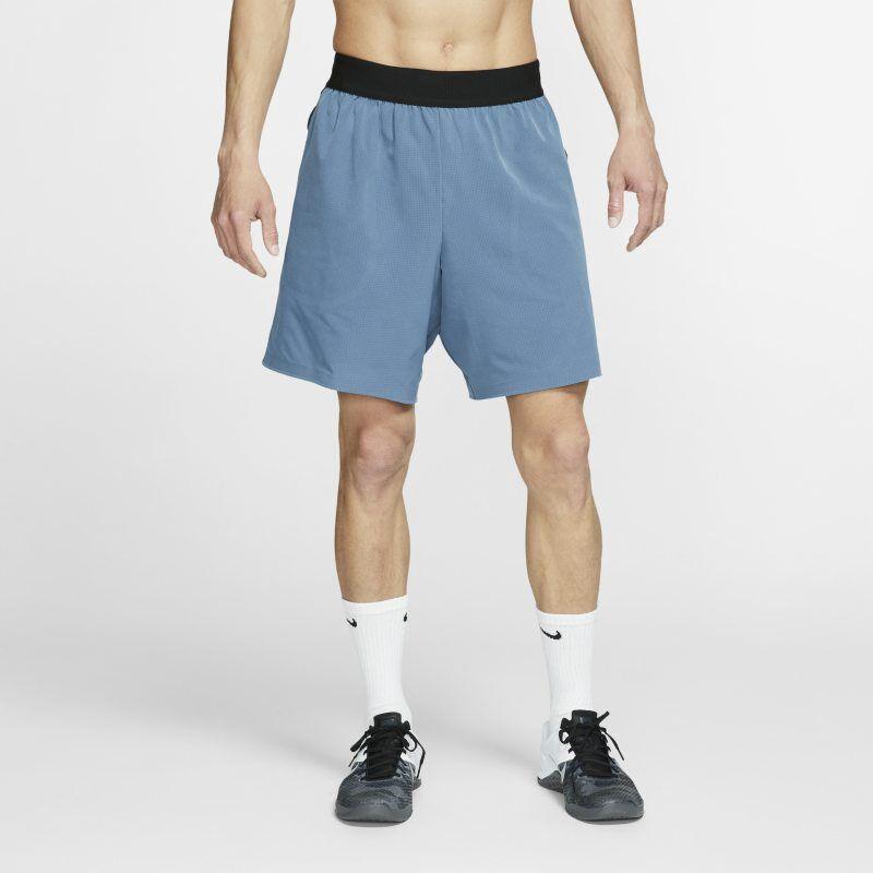 "Image of Nike ""Nike Flex Tech Pack Men's Training Shorts - Blue"""