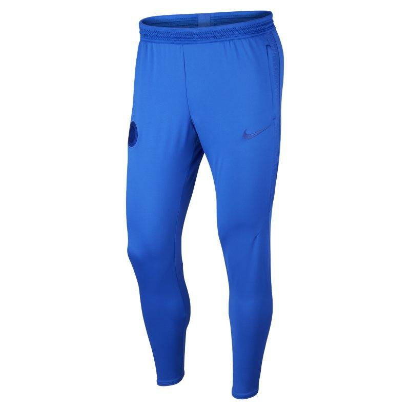 "Image of Nike ""Nike Dri-FIT Chelsea FC Strike Men's Football Pants - Blue"""