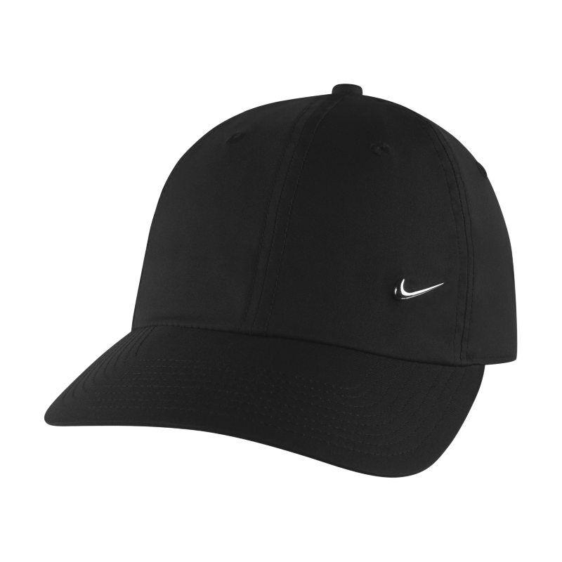 "Image of Nike ""Nike Metal Swoosh H86 Adjustable Hat - Black"""