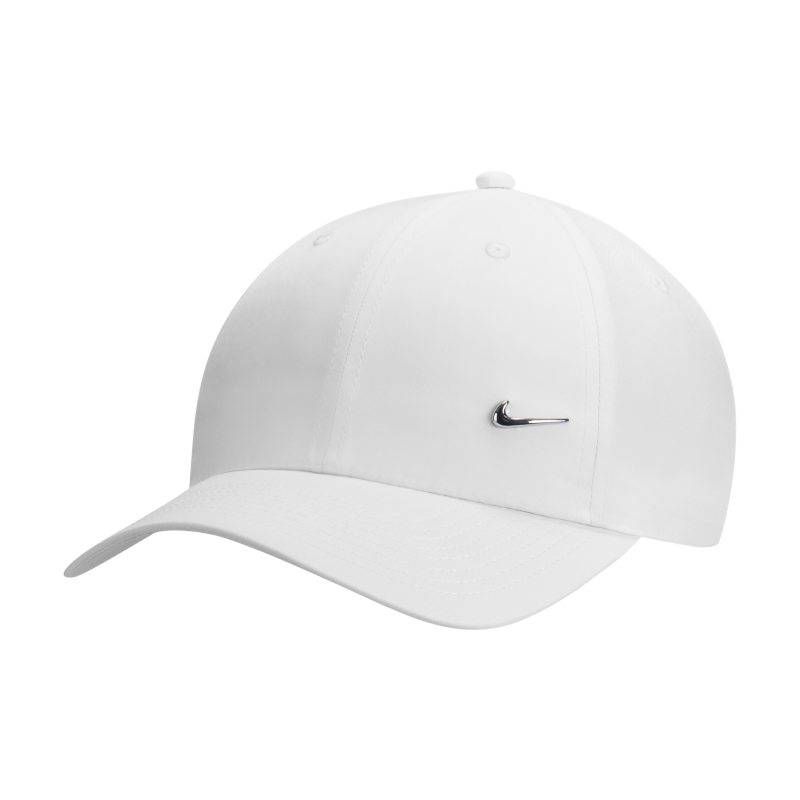 """Image of Nike """"Nike Metal Swoosh H86 Adjustable Hat - White"""""""