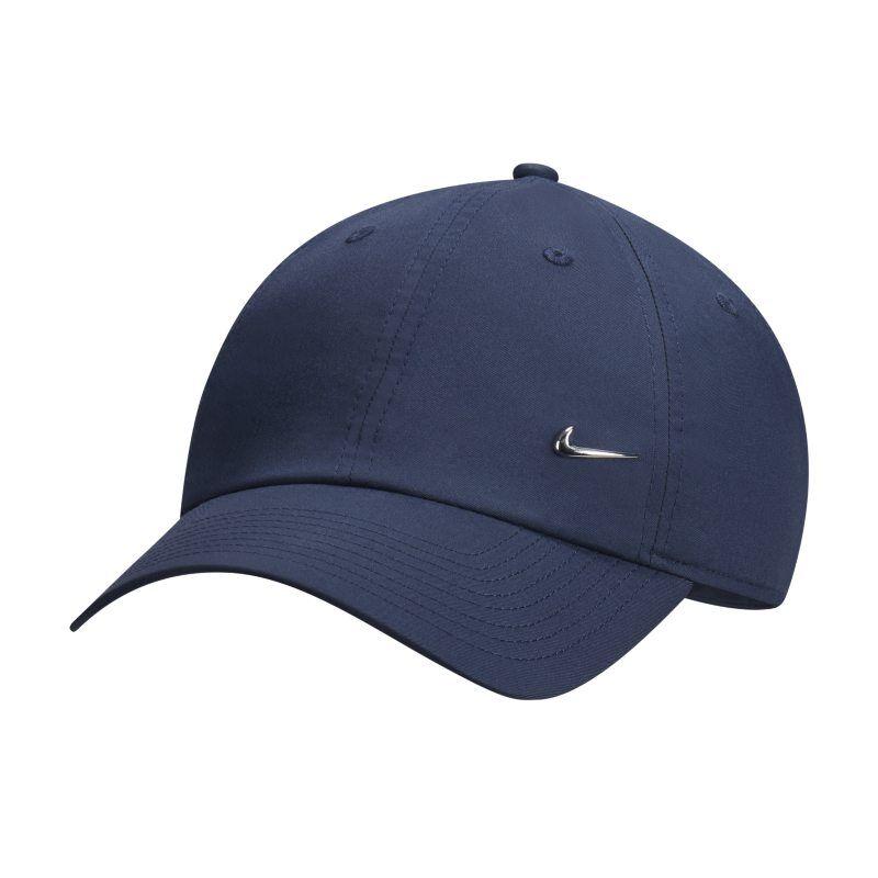 "Image of Nike ""Nike Metal Swoosh H86 Adjustable Hat - Blue"""