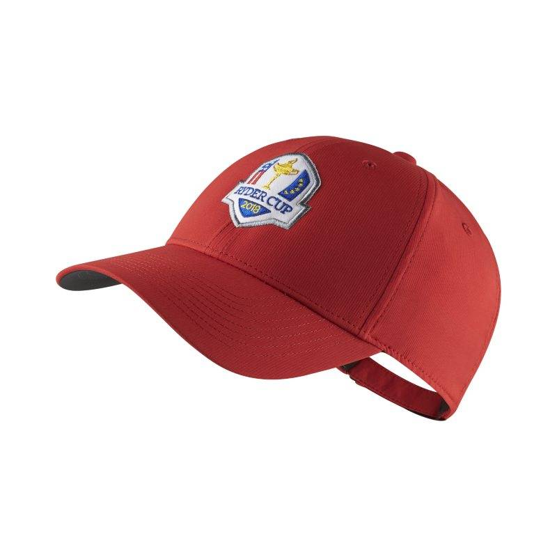 "Image of Nike ""Nike Dri-FIT Legacy91 Ryder Cup Golf Hat - Red"""
