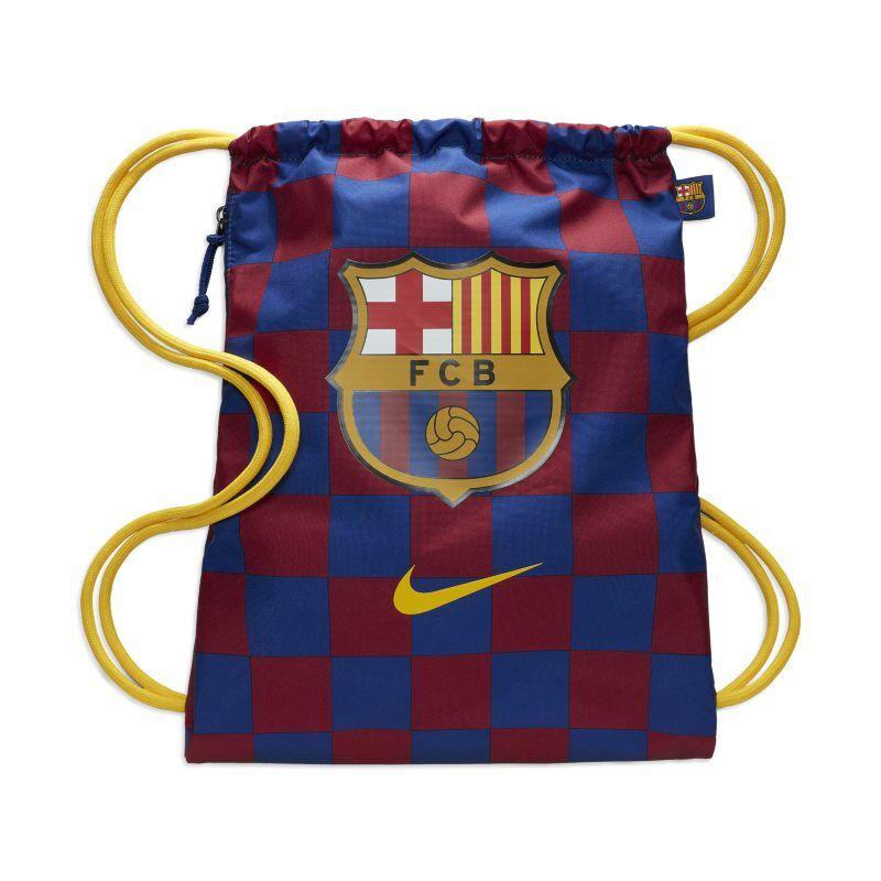 """Image of Nike """"FC Barcelona Stadium Football Gymsack - Blue"""""""