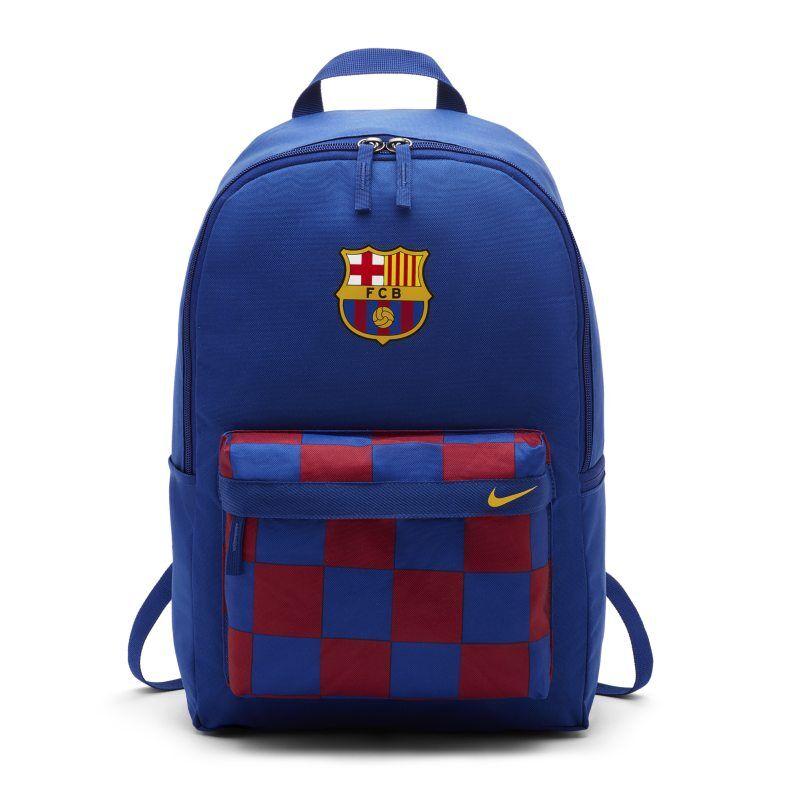 "Image of Nike ""FC Barcelona Stadium Football Backpack - Blue"""