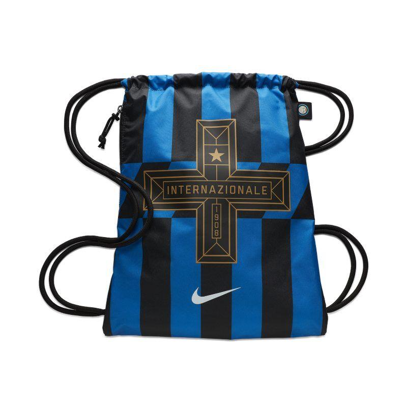 """Image of Nike """"Inter Milan Stadium Gymsack - Blue"""""""