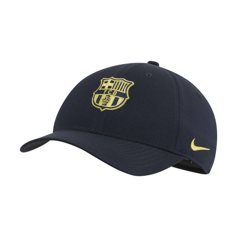 "Image of Nike ""Nike Dri-FIT FC Barcelona Legacy91 Adjustable Hat - Blue"""