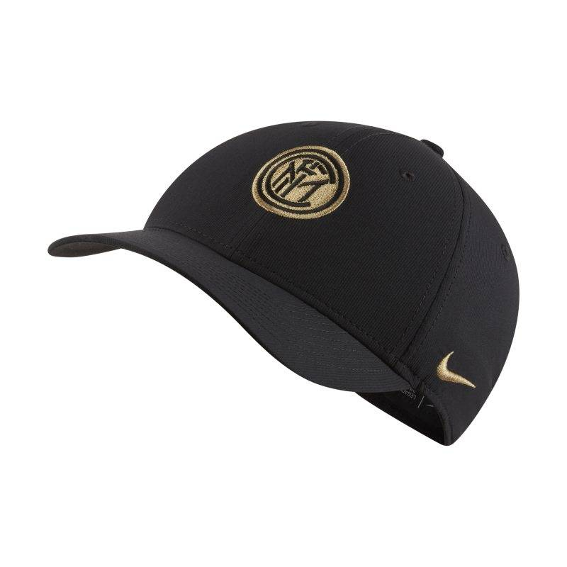 "Image of Nike ""Nike Dri-FIT Inter Milan Legacy91 Adjustable Hat - Black"""