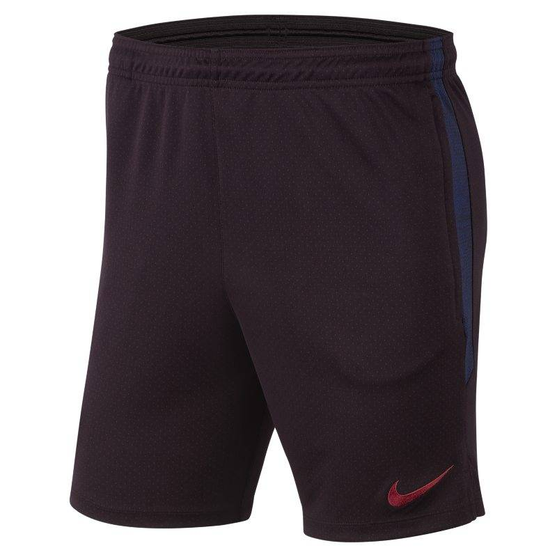 "Image of Nike ""Nike Dri-FIT FC Barcelona Strike Men's Football Shorts - Red"""