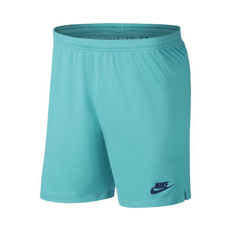 "Image of Nike ""FC Barcelona 2019/20 Stadium Third Men's Football Shorts - Blue"""