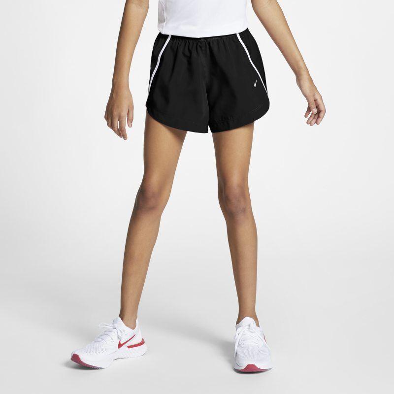 "Image of Nike ""Nike Dri-FIT Run Older Kids' (Girls') 3""""(7.5cm approx.) Running Shorts - Black"""