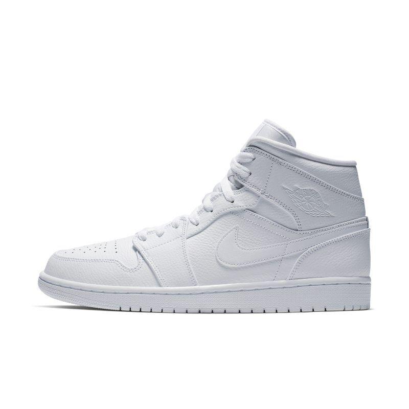 "Nike ""Air Jordan 1 Mid Shoe - White"""