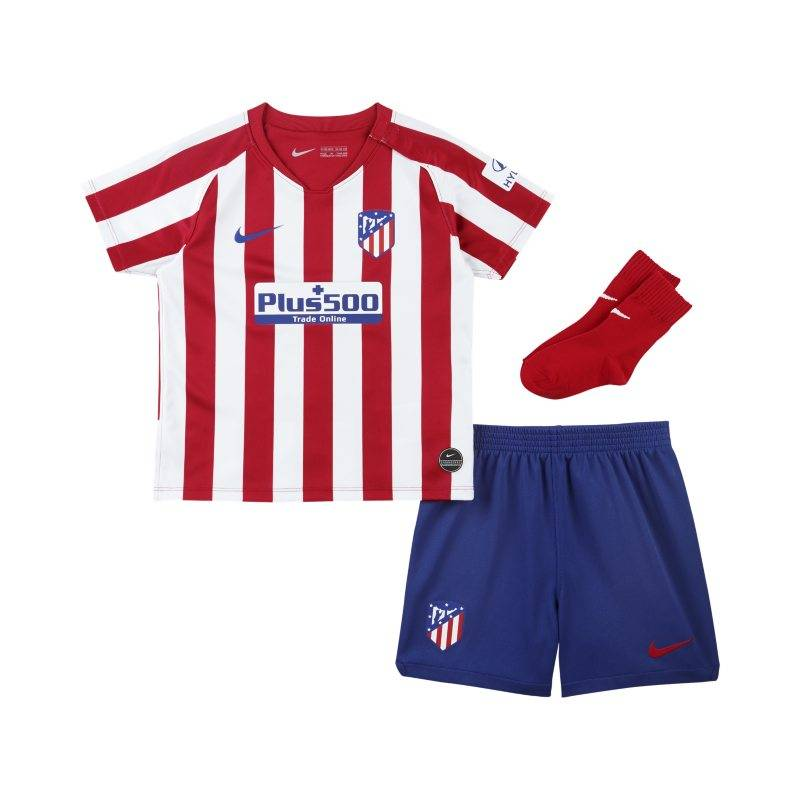 """Nike """"Atlético de Madrid 2019/20 Home Baby and Toddler Football Kit - Red"""""""