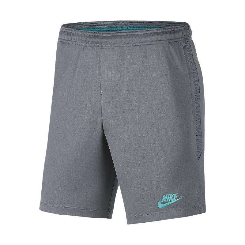 Image of Nike Dri-FIT FC Barcelona Strike Men's Football Shorts - Grey  - Male - Grey - Koko: Large