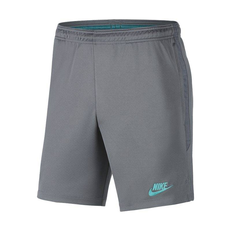 Image of Nike Dri-FIT FC Barcelona Strike Men's Football Shorts - Grey  - Male - Grey - Koko: Medium