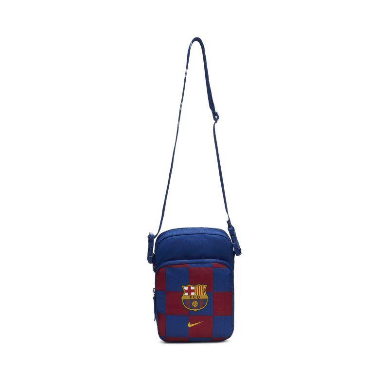 "Image of Nike ""FC Barcelona Stadium Small Items Bag - Blue"""