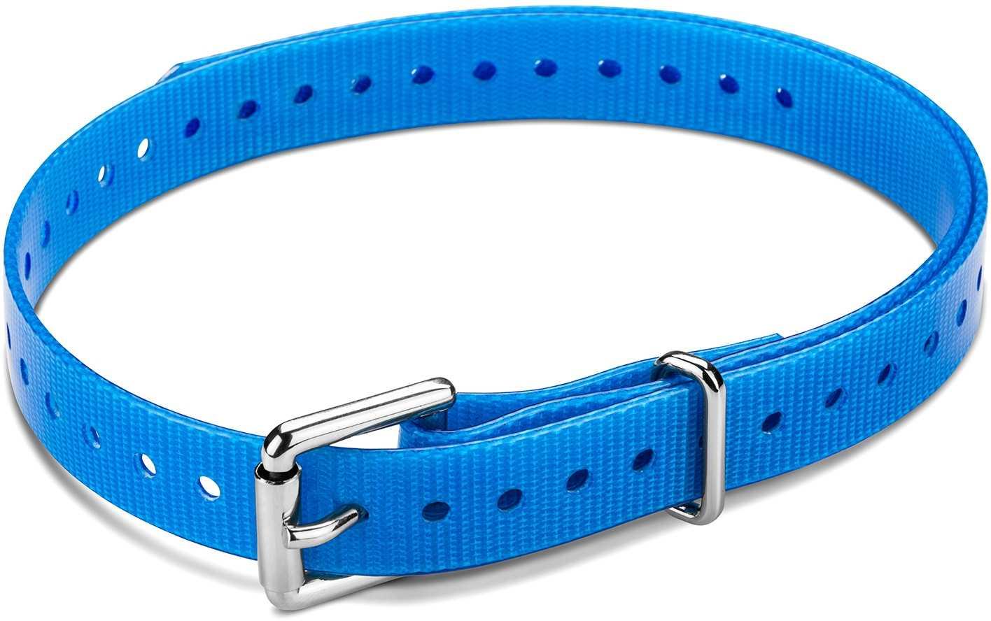 """Image of Garmin Halsbandsrem 3/4"""""""" med fyrkantigt rullspänne blå"""