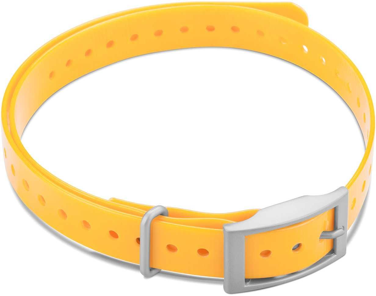 """Image of Garmin Halsbandsrem 3/4"""""""" med fyrkantigt spänne gul"""