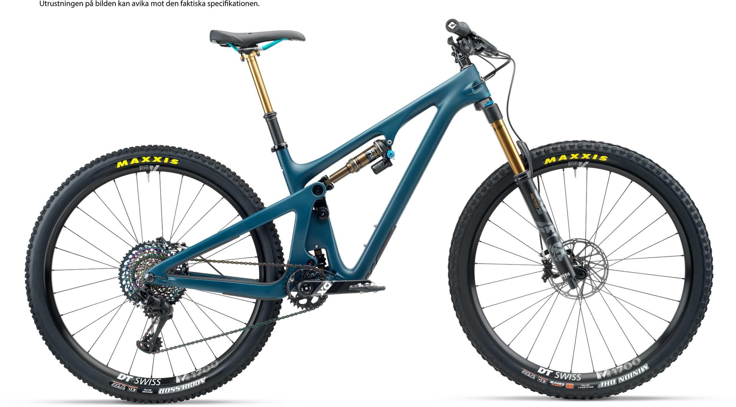 Image of Yeti SB130 TLR + XMC hjul blå x-large