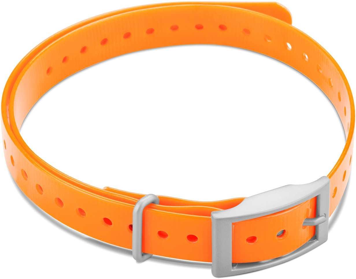 """Image of Garmin Halsbandsrem 3/4"""""""" med fyrkantigt spänne orange"""