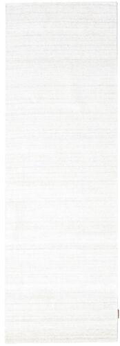 RugVista Bamboo silkki Loom - Vaalea Natural -matto 80x300 Moderni, Eteisen Matto
