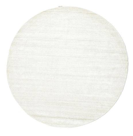RugVista Bamboo silkki Loom - Vaalea Natural -matto  Ø 300 Moderni, Pyöreä Matto