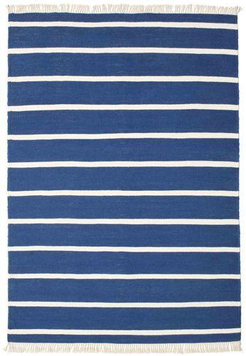 RugVista Dorri Stripe - Tummansininen -matto 160x230 Itämainen Matto