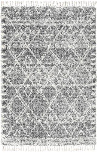 RugVista 160X230 Alga Matto Moderni Vaaleanharmaa/Tummanharmaa