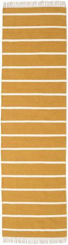RugVista Dorri Stripe - Mustard Yellow -matto 80x300 Itämainen, Eteisen Matto