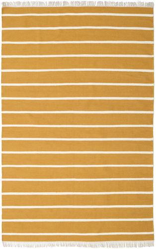 RugVista Dorri Stripe - Mustard Yellow -matto 200x300 Itämainen Matto