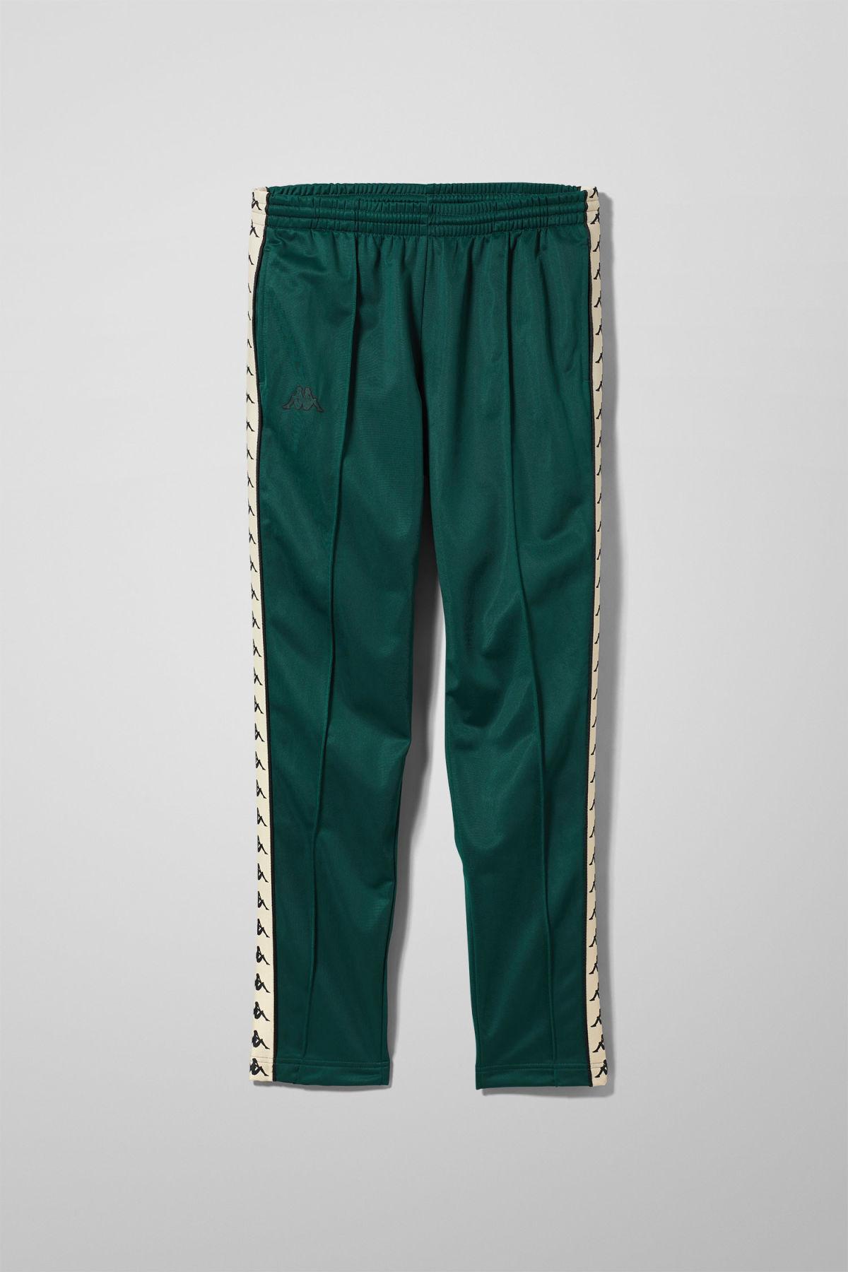 Astoria Snap Pants - Green-M