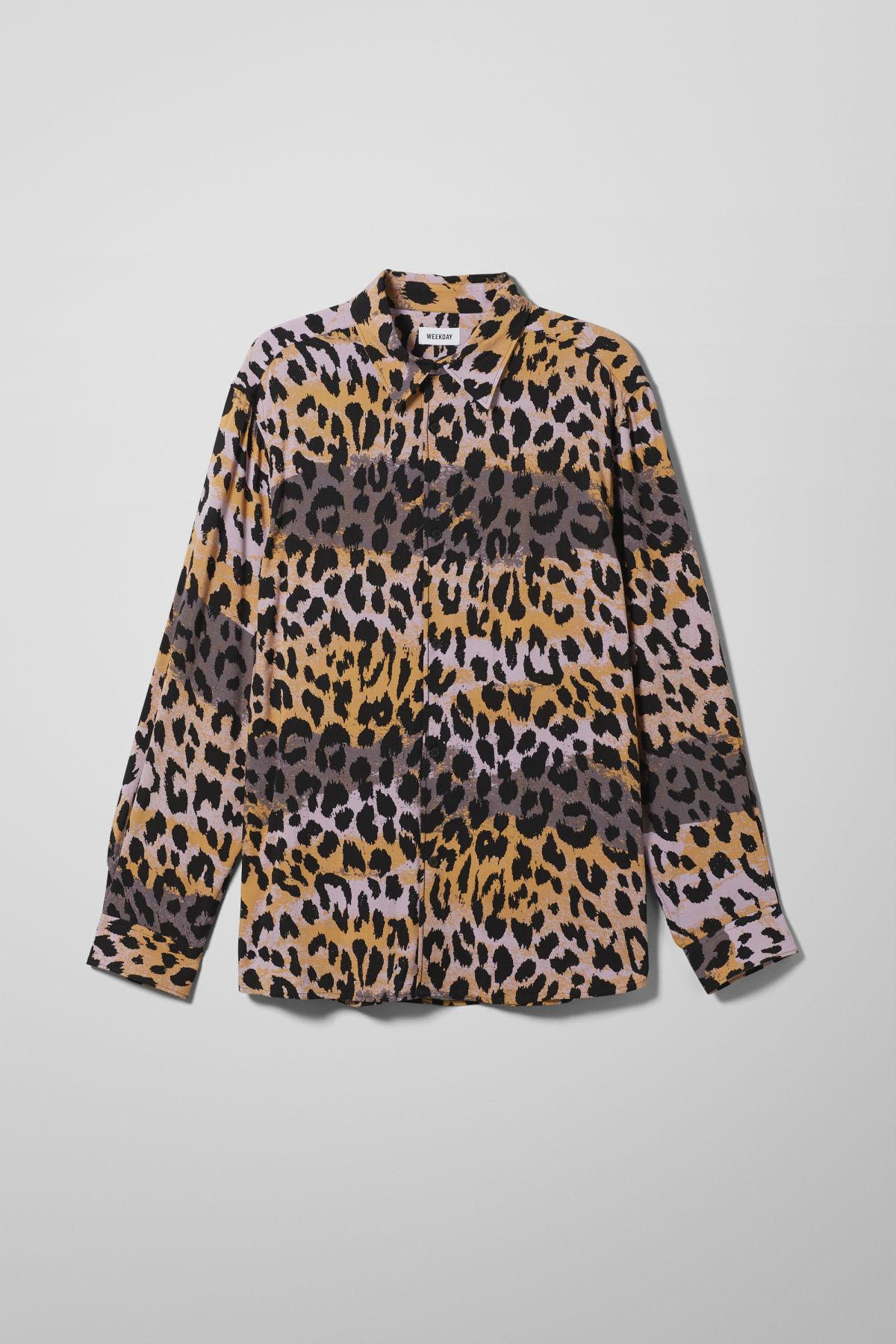 Nino Leo Splash Shirt - Yellow-L