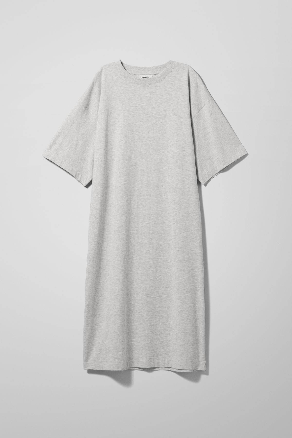 Image of Ines T-Shirt Dress - Grey-XS