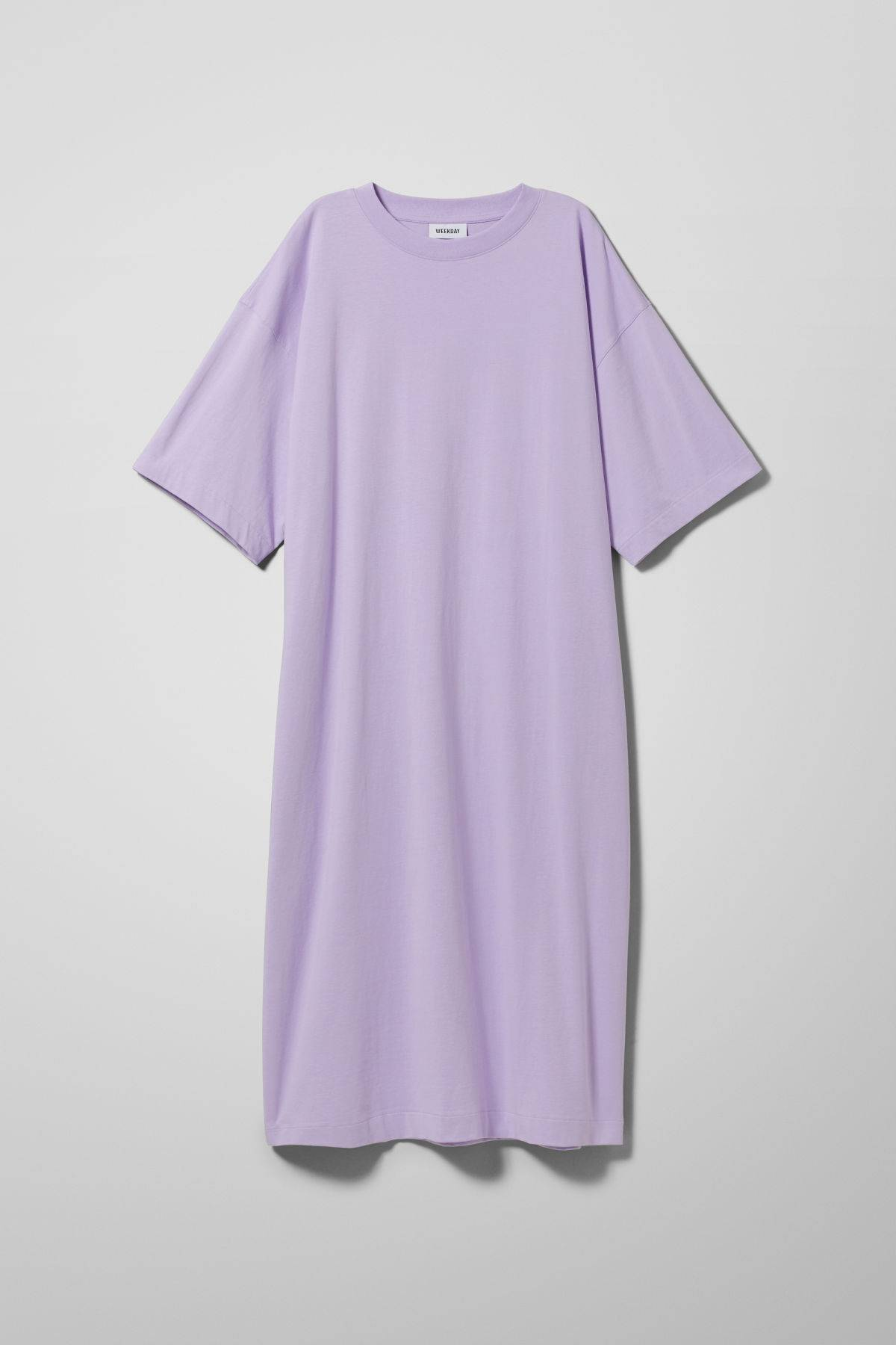 Image of Ines T-Shirt Dress - Purple-XS