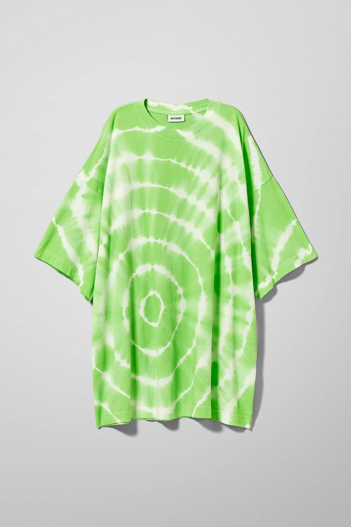 Image of Huge T-shirt Dress - Green-XS