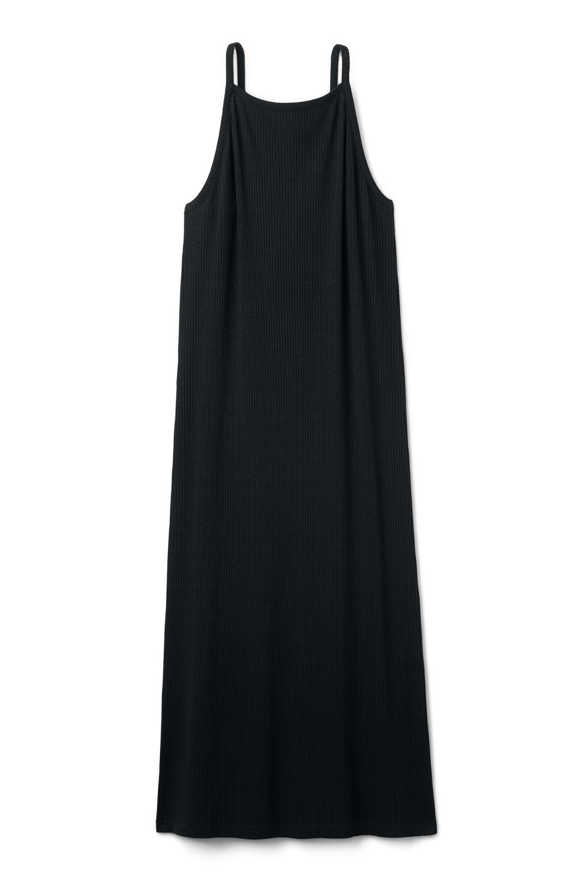 Image of Bella Long Dress - Black-XS