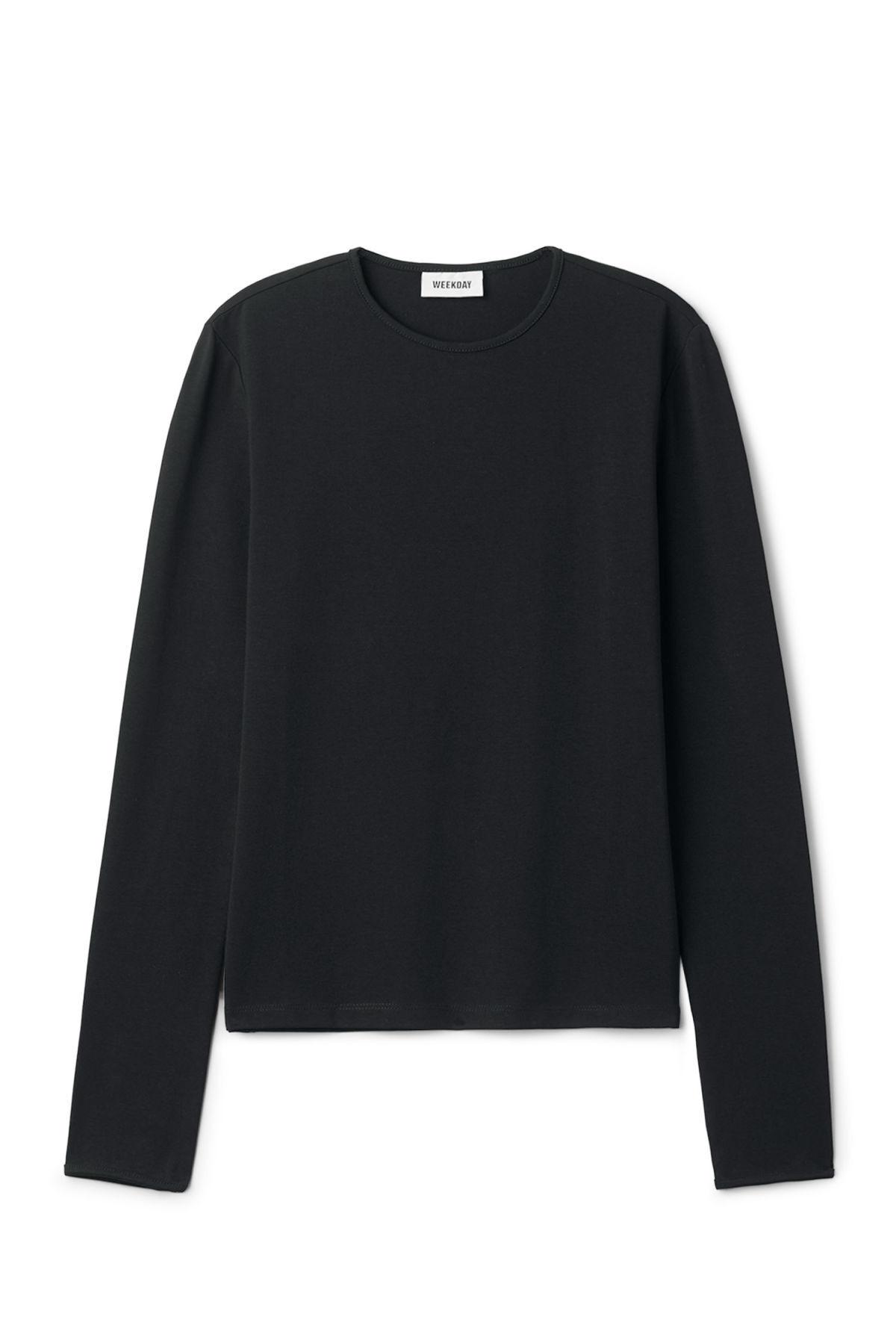 Image of Hue Long Sleeve - Black-XS