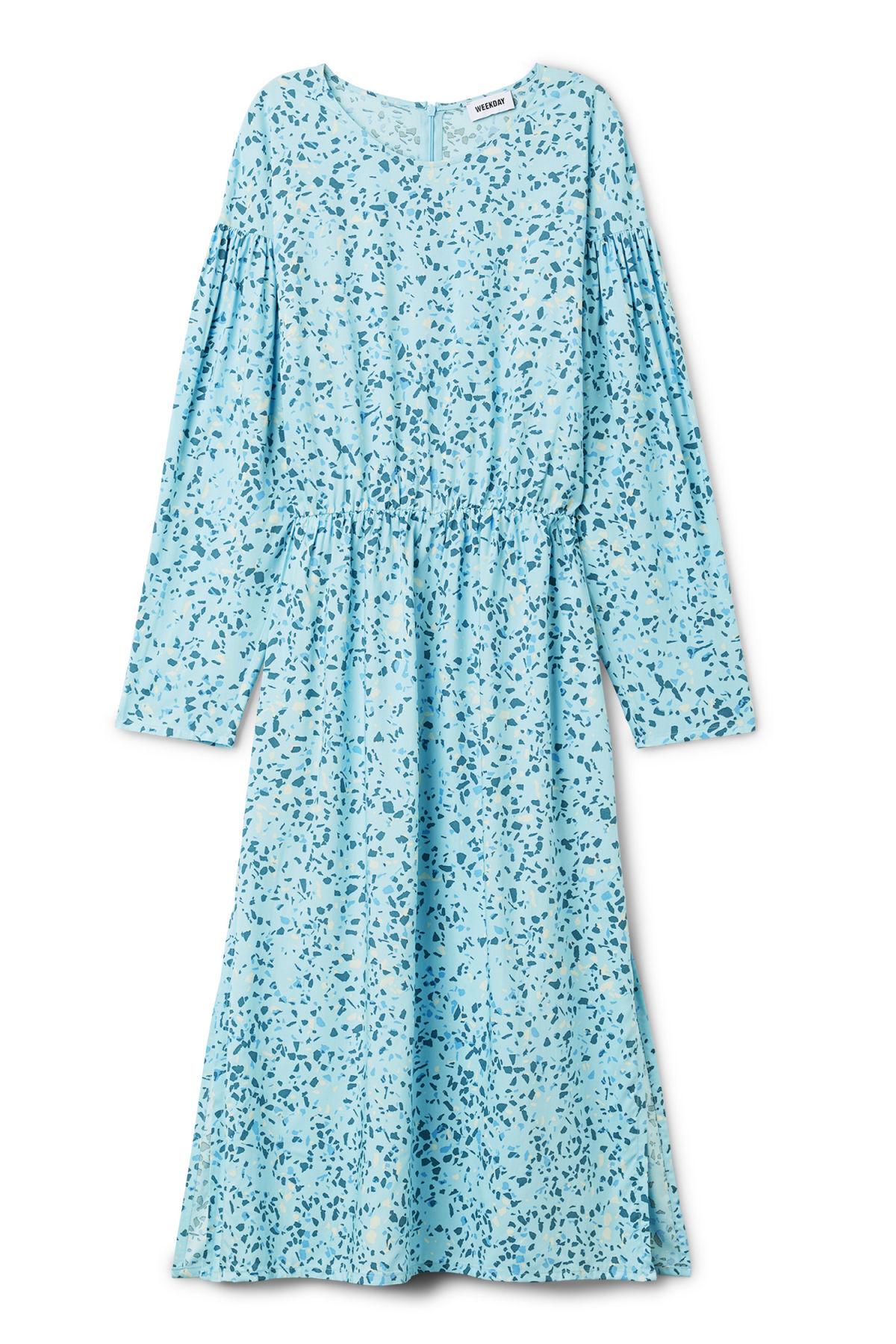 Image of Yancey Dress - Blue-XS