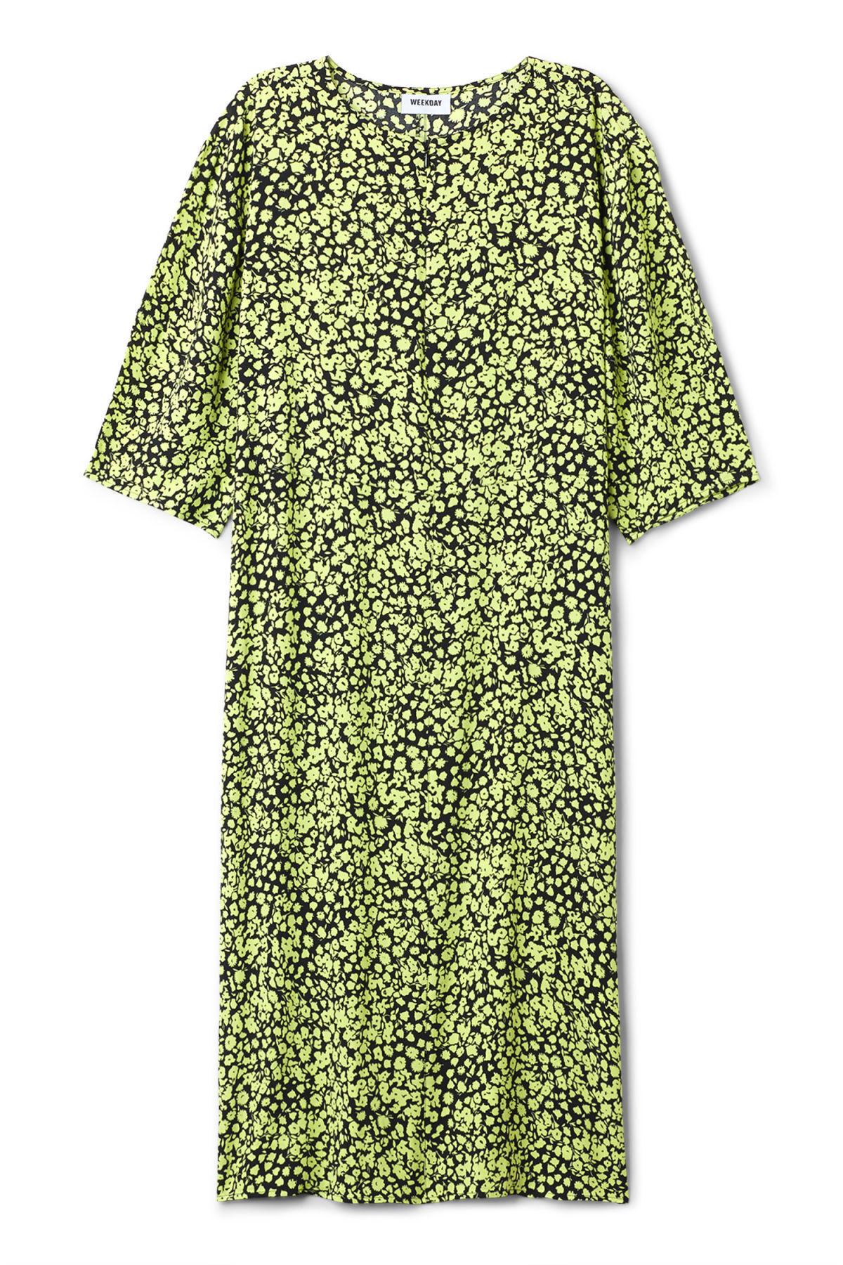 Image of Cara Dress - Yellow-XS