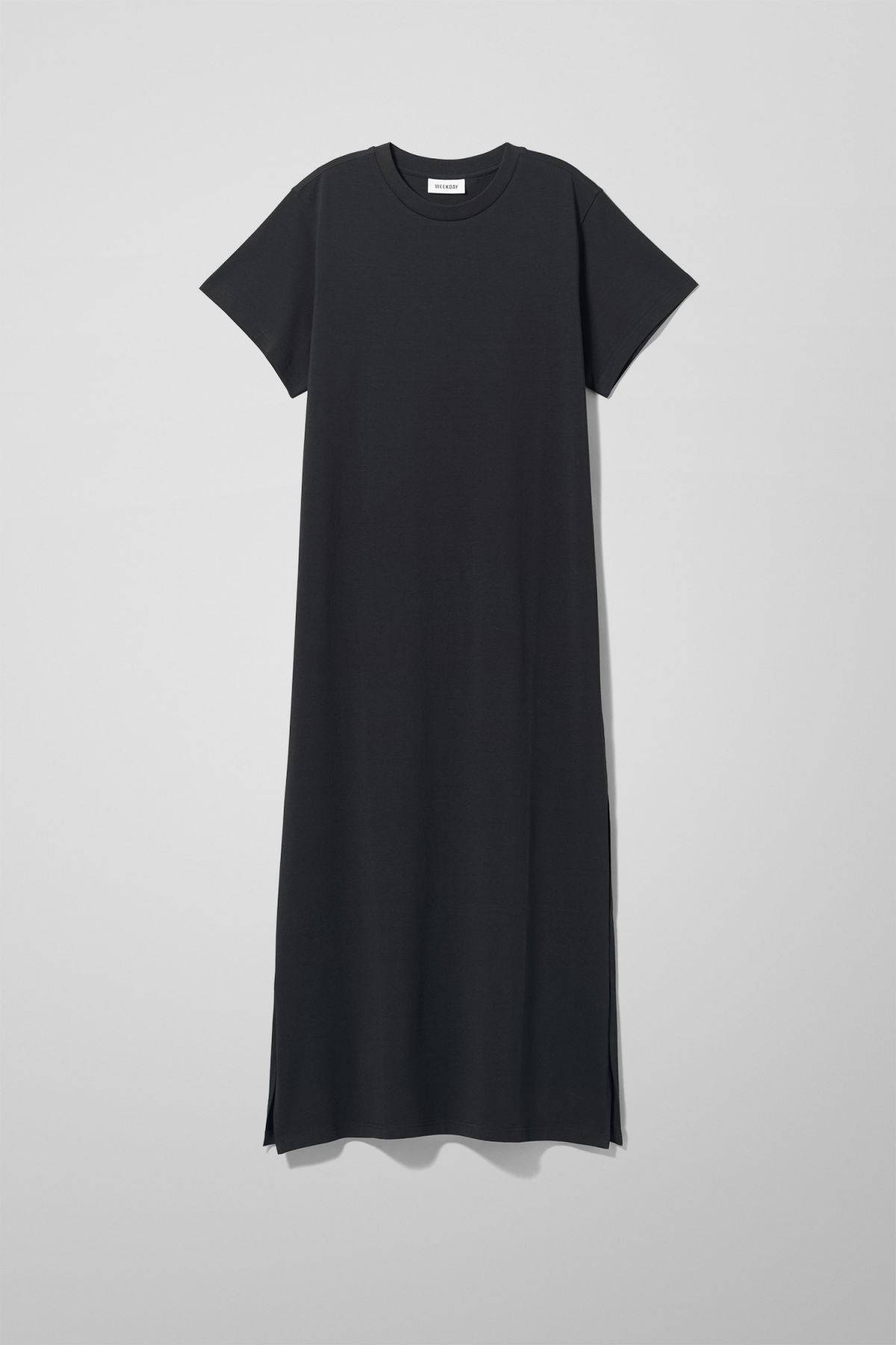 Image of Stroke Dress - Black-XS