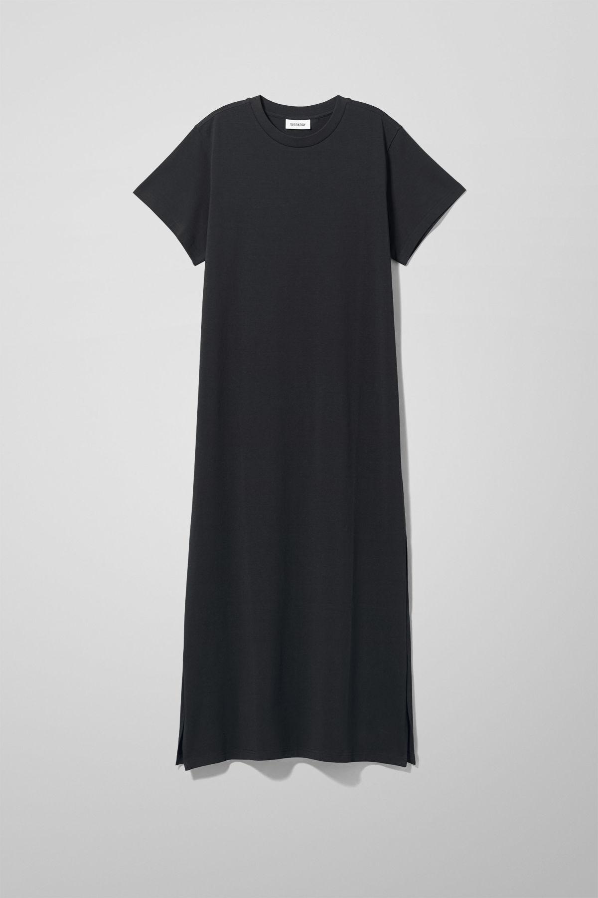 Image of Stroke Dress - Black-M