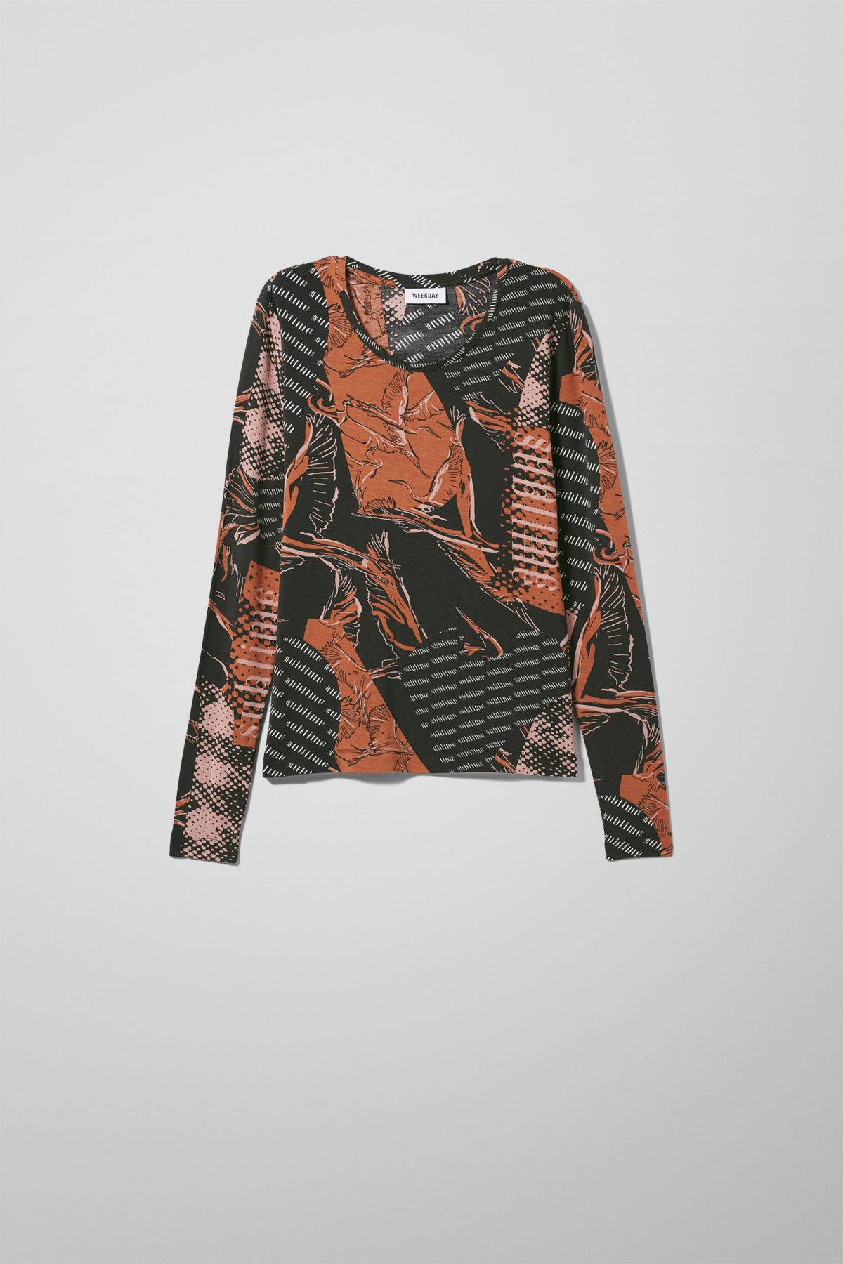 Image of Ziggy Long Sleeve - Black-XS