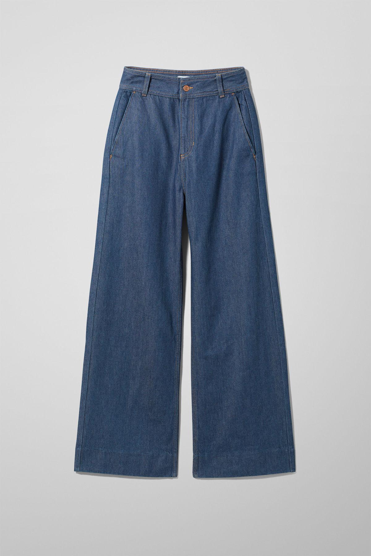 Cory Denim Trousers - Blue-36