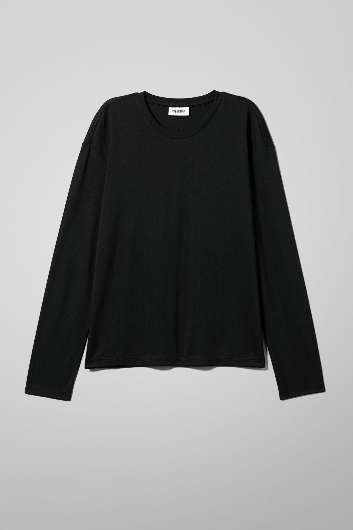 Image of Grace Long Sleeve - Black-XS