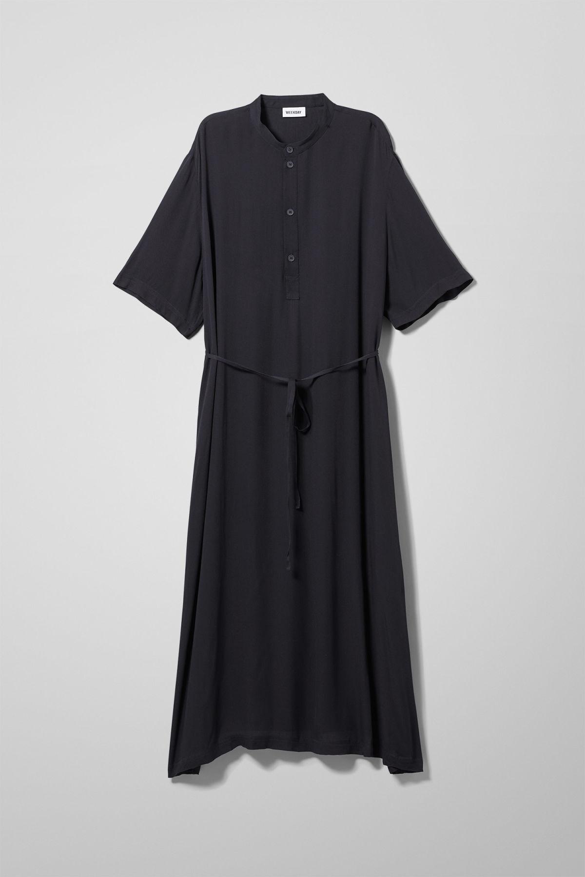 Image of Yana Dress - Blue-XS