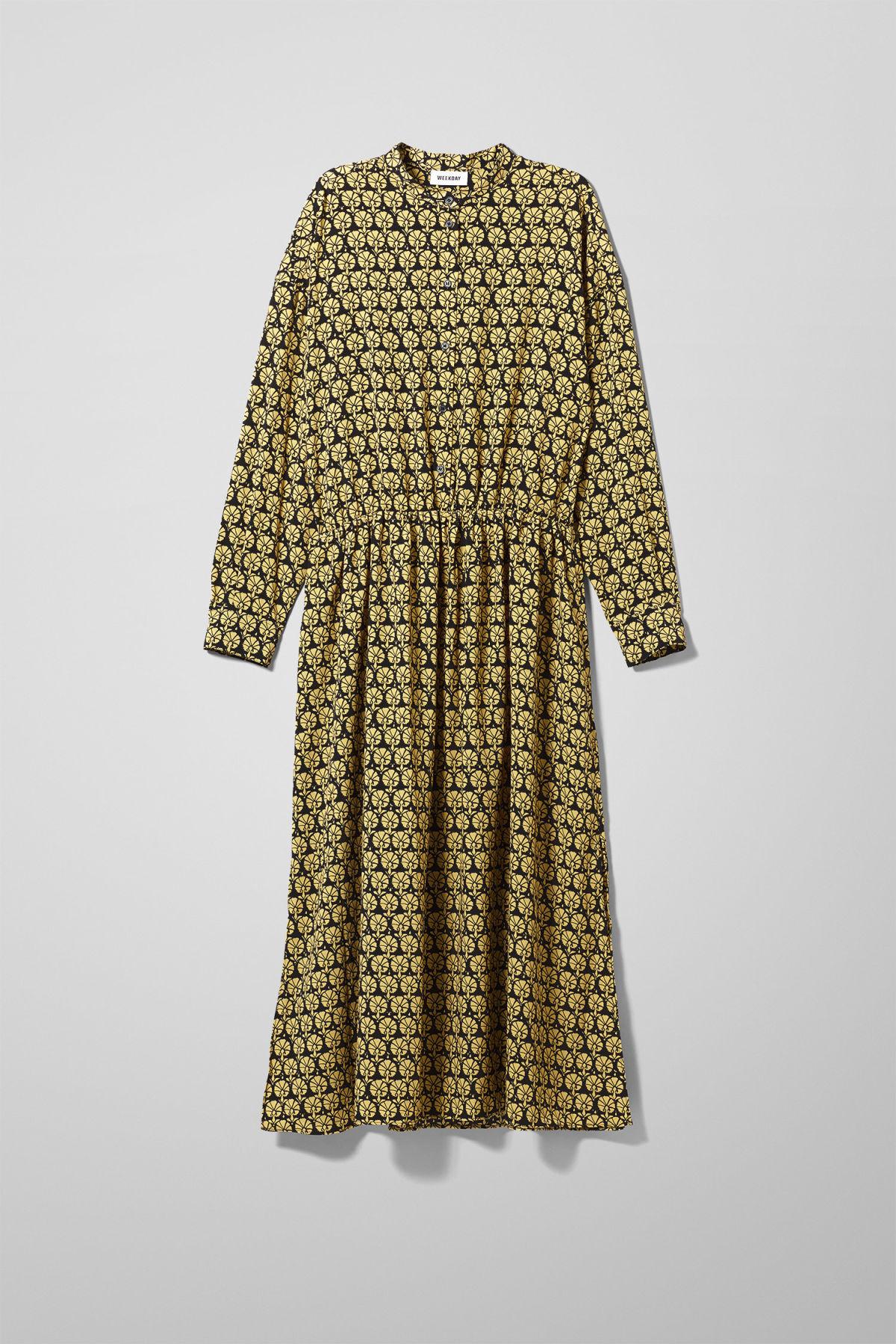 Image of Trudy Dress - Yellow-XS