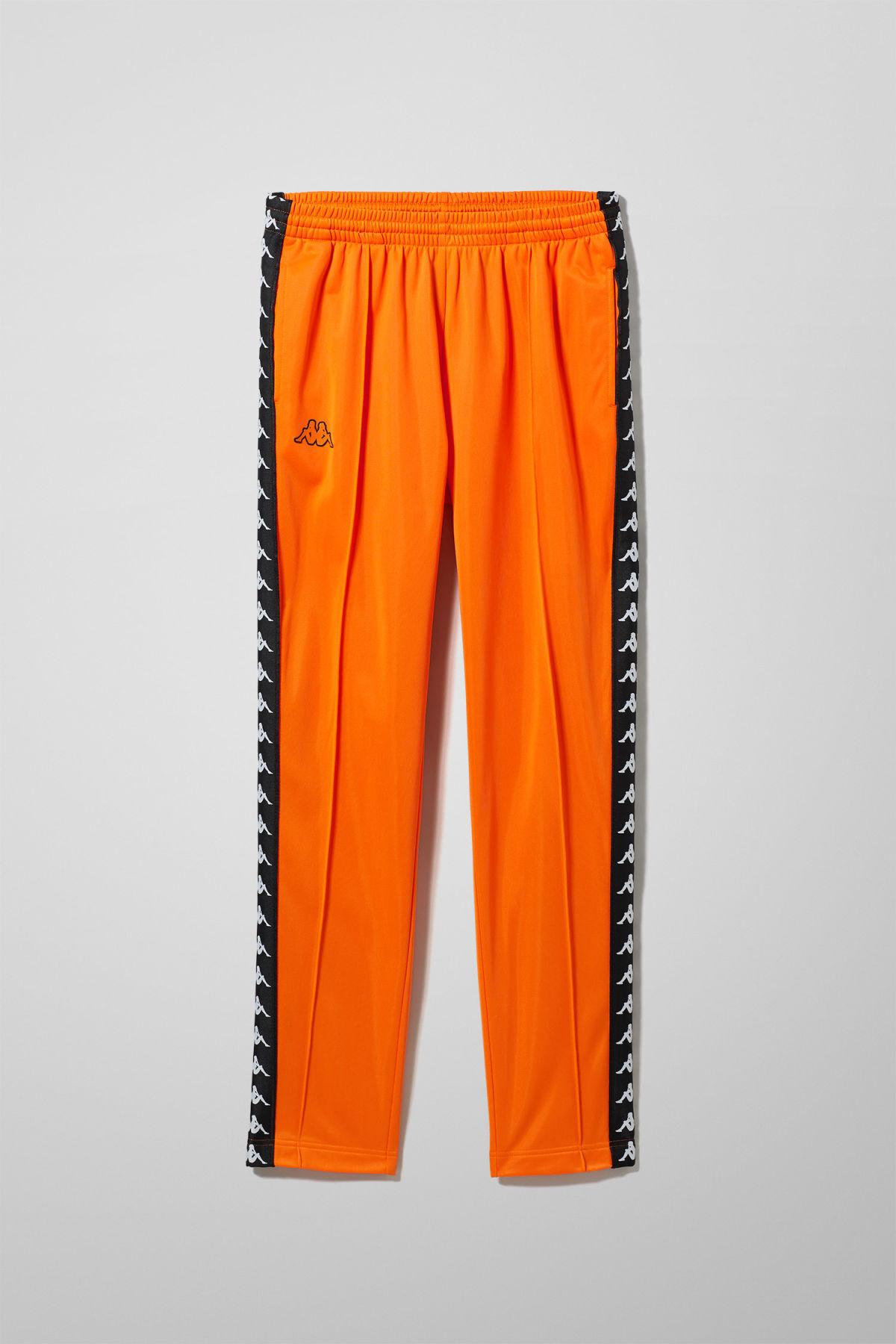 Astoria Snap Pants - Orange-XS